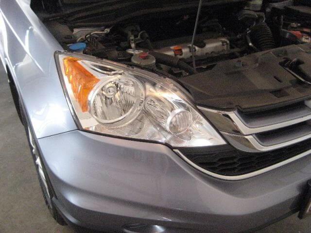 Thay bóng đèn chiếu gần Honda CRV